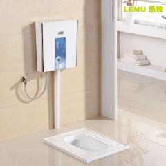 乐牧LEMU卫浴 蹲便器水箱整套套装 防臭便池蹲坑超薄水箱LM928
