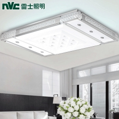 雷士照明长方形大气客厅灯现代简约卧室LED智能调光吸顶灯具9042