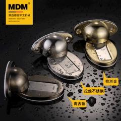 MDM免打孔门吸加长墙吸 卫生间地吸隐形门碰防撞门顶强磁吸门器