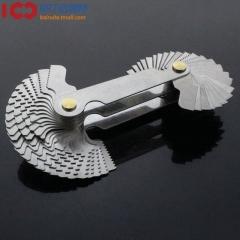 公制+英制一体式螺纹样板/罗纹样板/螺纹规/牙规 55度+60度