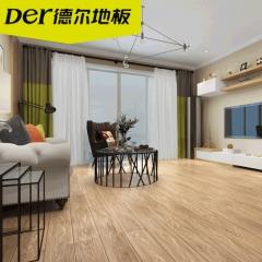 德尔地板 FCF猎醛环保地板 强化复合木地板 F3001钢琴大师 地暖