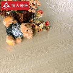 福人地板 北欧印橡E0环保12mm真木手抓纹 抗菌防潮强化复合木地板