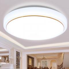 亚克力led吸顶灯卧室灯现代简约客厅灯阳台过道灯圆形顶灯具灯饰