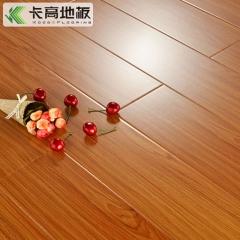 卡高 复合地板12mm光面 防水封蜡地板 强化家用仿实木 环保木地板